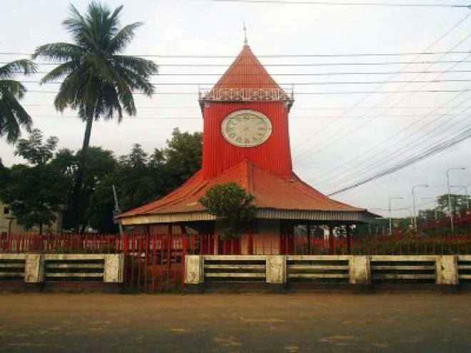 Historical Clock in sylhet